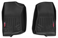 Interior Accessories - Rough Country - ROUGH COUNTRY HEAVY DUTY FLOOR MATS [FRONT] - (18-19 JEEP JL WRANGLER) - M-6150