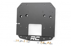 Rough Country - Bumpers and Accessories - Rough Country - ROUGH COUNTRY JEEP SPARE TIRE RELOCATION BRACKET (18-19 WRANGLER JL)
