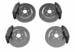 """TeraFlex - Brakes & Accessories - TeraFlex - Teraflex JL/JLU--JK/JKU: Delta Brake Kit - Front & Rear - 5x5"""" Bolt Pattern"""