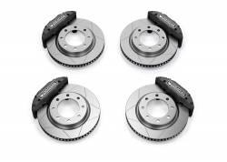 """TeraFlex - Brakes & Accessories - TeraFlex - Teraflex JL/JLU–JK/JKU: Delta Brake Kit - Front & Rear - 8x6.5"""" Bolt Pattern"""