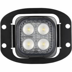 "VISION X Lighting - VISION X 3"" Flush Mount Kit With (2) 60° 4 LED Mini Dura Work Lights - Image 3"