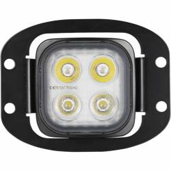 """VISION X Lighting - Vision X 3"""" Flush Mount Kit With (2) Mixed 10° and 20° 4 LED Mini Dura Work Light - Image 2"""
