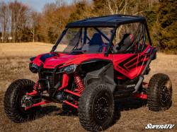 SuperATV - SuperATV Honda Talon 1000 Scratch Resistant Full Windshield  - WS-H-TAL-70