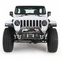 Jeep Wrangler JK 07-18 - Front Bumpers & Stingers - Smittybilt - Smittybilt Stryker Front Bumper fits Jeep Wrangler JK & JL 07-Present - 76730