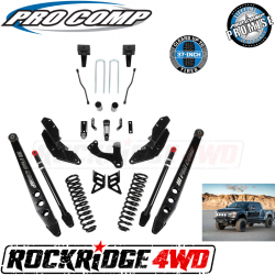 "PRO COMP - Pro Comp Stage III 4-Link 4"" Suspension Kit without Shocks for 17-19 Ford Superduty F250 / F350 - K4212"