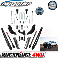 "PRO COMP - Pro Comp Stage III 4-Link 4"" Suspension Kit with ES9000 Shocks for 17-19 Ford Superduty F250 / F350 - K4212B"