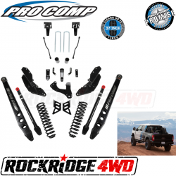 "PRO COMP - Pro Comp Stage III 4-Link 6"" Suspension Kit without Shocks for 17-19 Ford Superduty F250 / F350 - K4213"