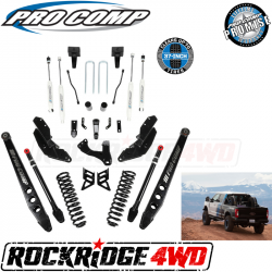 "PRO COMP - Pro Comp Stage III 4-Link 6"" Suspension Kit with ES9000 Shocks for 17-19 Ford Superduty F250 / F350 - K4213B"