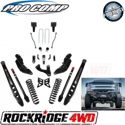 "PRO COMP - Pro Comp Stage III 4-Link 8"" Suspension Kit without Shocks for 17-19 Ford Superduty F250 / F350 - K4214"