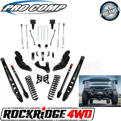 "PRO COMP - Pro Comp Stage III 4-Link 8"" Suspension Kit with ES9000 Shocks for 17-19 Ford Superduty F250 / F350 - K4214B"