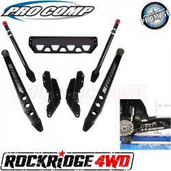 "PRO COMP - Pro Comp Stage III 4-Link 4-6"" Suspension Kit Upgrade for 17-19 Ford Superduty F250 / F350 - K4215B"