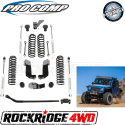 PRO COMP - Pro Comp 3.5 Inch Stage II Lift Kit with Twin Tube Shocks for 07-18 Jeep Wrangler JK 4 Door - K3108B