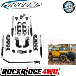 PRO COMP - Pro Comp 3.5 Inch Stage II Lift Kit with Pro Runner Shocks for 07-18 Jeep Wrangler JK 4 Door - K3108BP