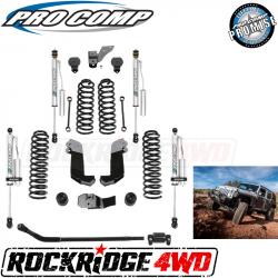 PRO COMP - Pro Comp JK 3.5 Inch Stage II Lift Kit with Pro Runner Reservoir Shocks for 07-18 Jeep Wrangler JK 4 Door - K3108BPR