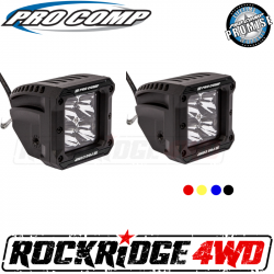 <B>HOT BUYS</B> - PRO COMP - Pro Comp 2x2 Square S4 GEN3 LED Spot Lights - 76414P