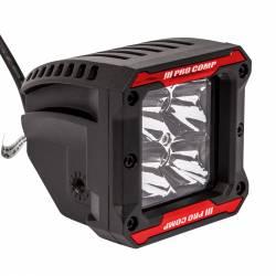 PRO COMP - Pro Comp 2x2 Square S4 GEN3 LED Spot Lights - 76414P - Image 4