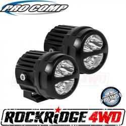 """PRO COMP - Pro Comp 3"""" Round Spot LED Lights PAIR - 76412P"""