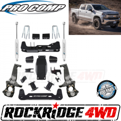 """PRO COMP - Pro Comp 6"""" Lift Kit with ES9000 Rear Shocks for 2019 Chevrolet Silverado 1500 and GMC Sierra 1500 4WD - K1175B"""