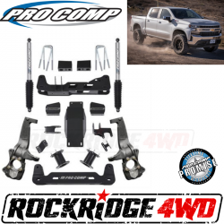 """PRO COMP - Pro Comp 6"""" Lift Kit with Pro Runner Rear Shocks for 2019 Chevrolet Silverado 1500 and GMC Sierra 1500 4WD - K1175BP"""
