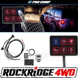 PRO COMP - Pro Comp SS-6 Six-Way Universal Switch Panel - 76201