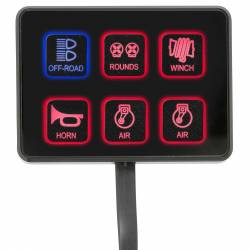 PRO COMP - Pro Comp SS-6 Six-Way Universal Switch Panel - 76201 - Image 9
