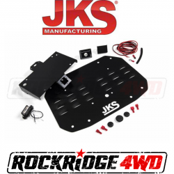 Bumpers & Tire Carriers - Universal Bumper Build Components - JKS Manufacturing - JKS Tailgate Vent Cover | 18+ Jeep Wrangler JL - 8215