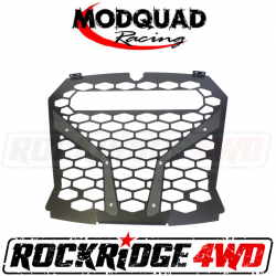 "MODQUAD Racing - MODQUAD Racing Front Grill For The RZR XP Turbo S w/ 10"" LED Light Bar Insert"
