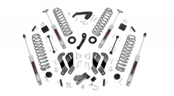 Rough Country - Rough Country 3.5IN JEEP SUSPENSION LIFT KIT | CONTROL ARM DROP (07-18 WRANGLER JK UNLIMITED) - 69430