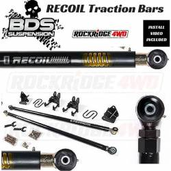 BDS Suspension - BDS RECOIL Traction Bars for Chevy, Ford, Ram, Toyota *PICK YOUR MODEL* - 123409