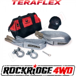 TeraFlex - Accessories - TeraFlex - TeraFlex Recovery Kit, Bag, straps, D-Rings, Air deflator, Hat    -5028995