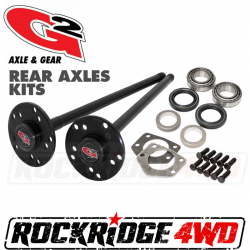 G2 Axle & Gear - Dana 44 JK RUBICON Rear Axle Kit - 32 Spline - 2007-2018 Jeep JK Rubicon - By G/2 Gear & Axle - G/296-2052-3-32