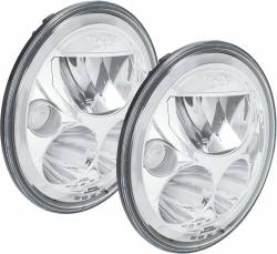 "Lighting - LED Headlights - VISION X Lighting - VISION X | VX 7"" ROUND SEALED LED HEADLIGHTS FOR JEEP JK *Select Chrome or Black Chrome*  DOT APPROVED - XIL-7RDBKITJK, XIL-7RDKITJK"