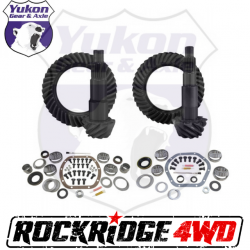 GEAR CHANGE PACKAGES BY VEHICLE - Jeep Wrangler JK 07-2018 - Yukon Gear & Axle - YUKON GEAR PACKAGE FOR 07-18 JEEP WRANGLER JK NON-RUBICON, 4.11 RATIO - YGK055