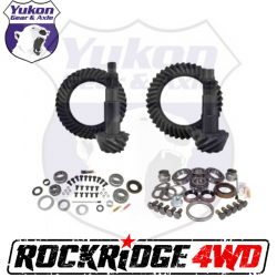 GEAR CHANGE PACKAGES BY VEHICLE - Jeep Wrangler JK 07-2018 - Yukon Gear & Axle - YUKON GEAR PACKAGE FOR 07-18 JEEP WRANGLER JK RUBICON, 4.88 RATIO - YGK015