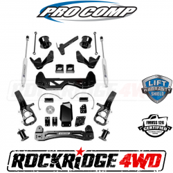 """PRO COMP - Pro Comp 6"""" Stage 1 Lift Kit with ES9000 Shocks for 2019 RAM 1500 (OE 22"""" RIMS) - K2104B"""