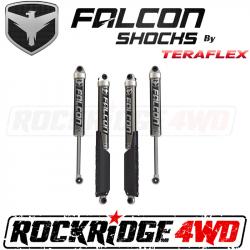 "TeraFlex JLU 4-Door: Falcon SP2 2.1 Monotube Shocks (0-1.5"" Lift) - All 4 - 11-02-21-400-000"