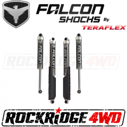"TeraFlex JLU 4-Door: Falcon SP2 2.1 Monotube Shocks (2-3.5"" Lift) - All 4 - 11-02-21-400-200"