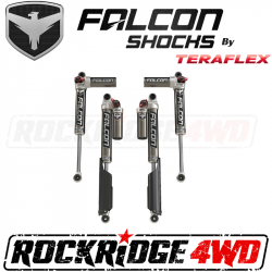 "TeraFlex JLU 4-Door: Falcon SP2 3.3 Fast Adjust Piggyback Shocks (0-1.5"" Lift) - All 4 - 11-02-33-400-000"