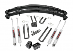 "FORD - 1980-1998 Ford F250, F350 - Rough Country - Rough Country 4"" Suspension Lift Kit for Ford 77.5-79 F250 Lowboy - 415.20"