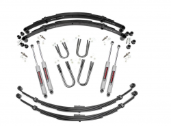 "Rough Country - Rough Country 1974-1990 4wd Grand Wagoneer / Cherokee 3"" Suspension Lift Kit with Rear Springs   - 64530"