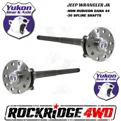 Shop By Brand - Yukon Gear & Axle - Yukon Gear & Axle - Jeep Wrangler JK | JKU 07-18 Dana 44 30 Spline Chromoly Rear Yukon Axle Kit - YA WD44JKNONR-KIT