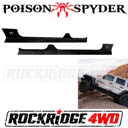Rocker Armor - Jeep Wrangler JL 18+ - Poison Spyder - Poison Spyder Body Armor for 18+ Jeep Wrangler JLU 4DOOR - 20-08-910P1