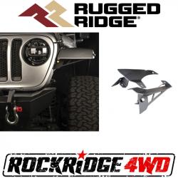 Exterior Body & Styling - Jeep Wrangler JL 18+ - Rugged Ridge - Rugged Ridge CHOP BRACKETS, FRONT FENDER for 18-19 Jeep Wrangler JL *Select Model* - 11640.91, 11640.92