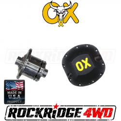 OX Locker - DANA 30 OX Locker (3.55 & DN) 30 SPLINE JEEP CJ XJ MJ YJ TJ LJ ZJ JK WJ - Includes HEAVY DUTY Differential Cover!  -OX-D30-355-30