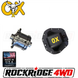 Dana Spicer - Dana 60 - OX Locker - DANA 60 OX Locker (4.56 & HIGHER) 30 SPLINE FORD CHEVY DODGE - Includes HEAVY DUTY Differential Cover!   -OX-D60-456-30