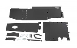 Rough Country - Skid Plates - Rough Country - Rough Country JEEP SKID PLATE COMPLETE SYSTEM (18-19 JL UNLIMITED | 3.6L)