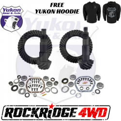 GEAR CHANGE PACKAGES BY VEHICLE - Jeep Wrangler JK 07-2018 - Yukon Gear & Axle - YUKON GEAR PACKAGE | 07-18 JEEP WRANGLER JK NON-RUBICON, 4.56 RATIO - YGK012