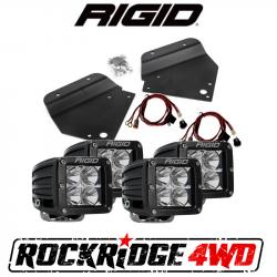 Lighting - RIGID INDUSTRIES - RIGID Fog Light Kit w/ 4 D-Series PRO LED Lights for 10-14 Ford Raptor SVT