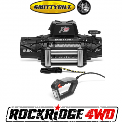 Winches & Recovery Gear - 8,000 to 16,000 lbs Electric Winches - Smittybilt - Smittybilt XRC Gen3 9.5K Winch with Steel Cable - 97695