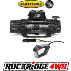 Winches & Recovery Gear - 8,000 to 16,000 lbs Electric Winches - Smittybilt - Smittybilt XRC Gen3 9.5K Comp Series Winch with Synthetic Cable - 98695
